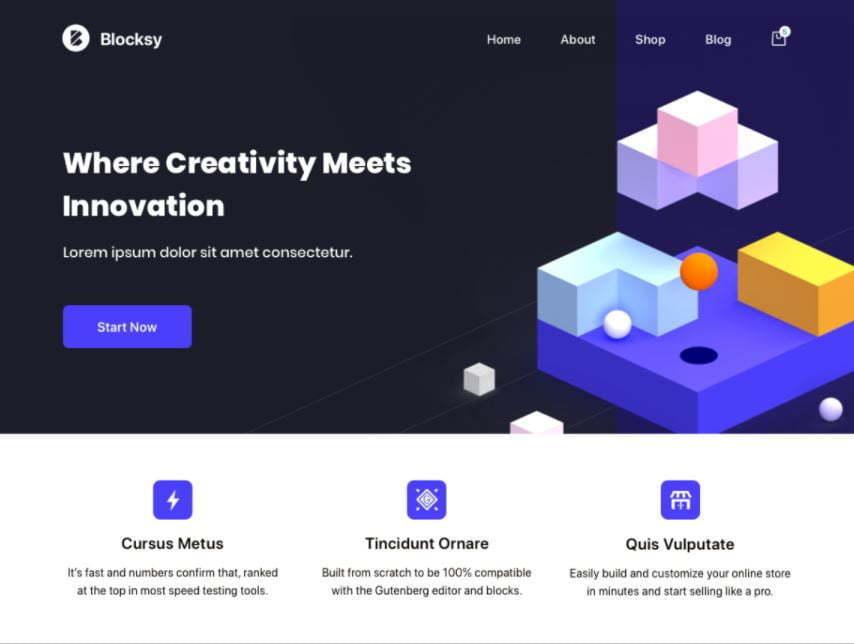 Blocksy Theme